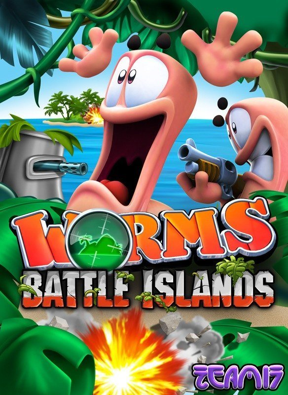 Neue Screenshots zu Worms Battle Islands für Wii