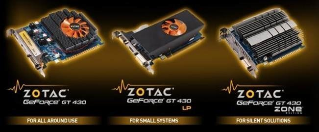 Zotac GeForce GT430