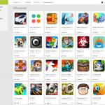 Google Play Store - Offlinespiele