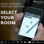 Hilton - Hotelzimmer per Smartphone buchen