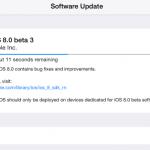 iOS 8 - Beta 3