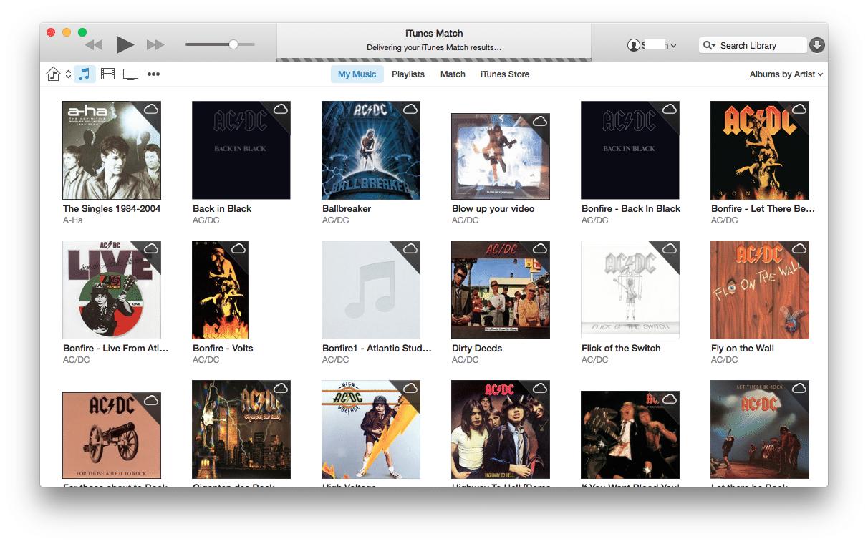 iTunes 12 - Screenshot