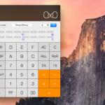 OS X 10.10 - Beta 4 Taschenrechner