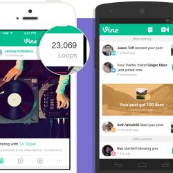 Vine für iOS und Android zählt jetzt Wiederholungen
