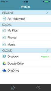 WinZip - Screenshot