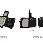 Lautsprecher iPhone 6 und iPhone 5s im Vergleich