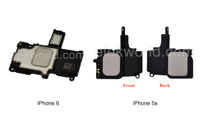 Lautsprecher iPhone 6 und iPhone 5s