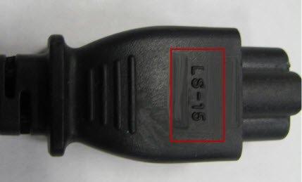 Netzkabel LS-15 von Hewlett-Packard