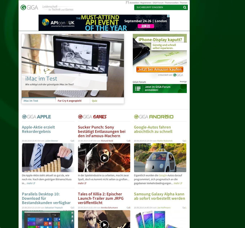 GIGA.de - Screenshot