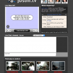Justin.tv - Screenshot
