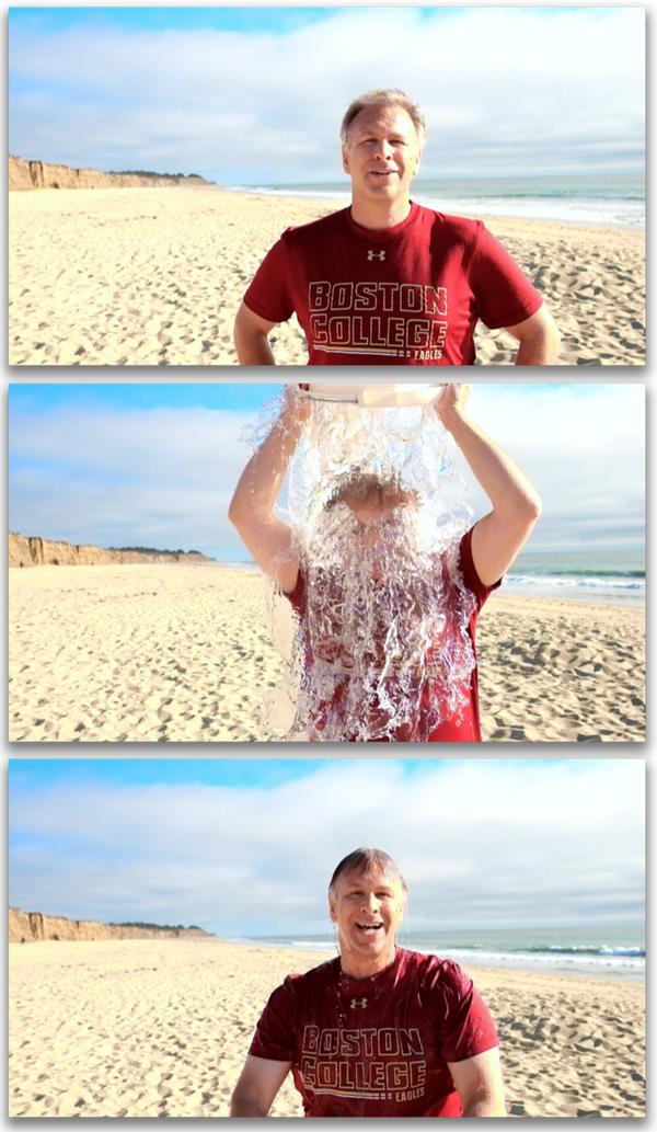 Phil Schiller - Fotostrecke beim Eiswasser-Eimer-Wettbewerb