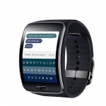 Fleksy - On-Screen-Keyboard auf Samsung Gear S
