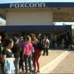 Foxconn Fabrik-Gelände in Brasilien