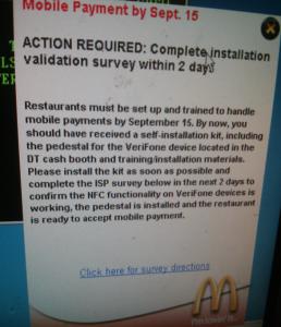 McDonalds - Memo Mobile Payment