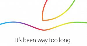 Einladung zum iPad-Event 2014