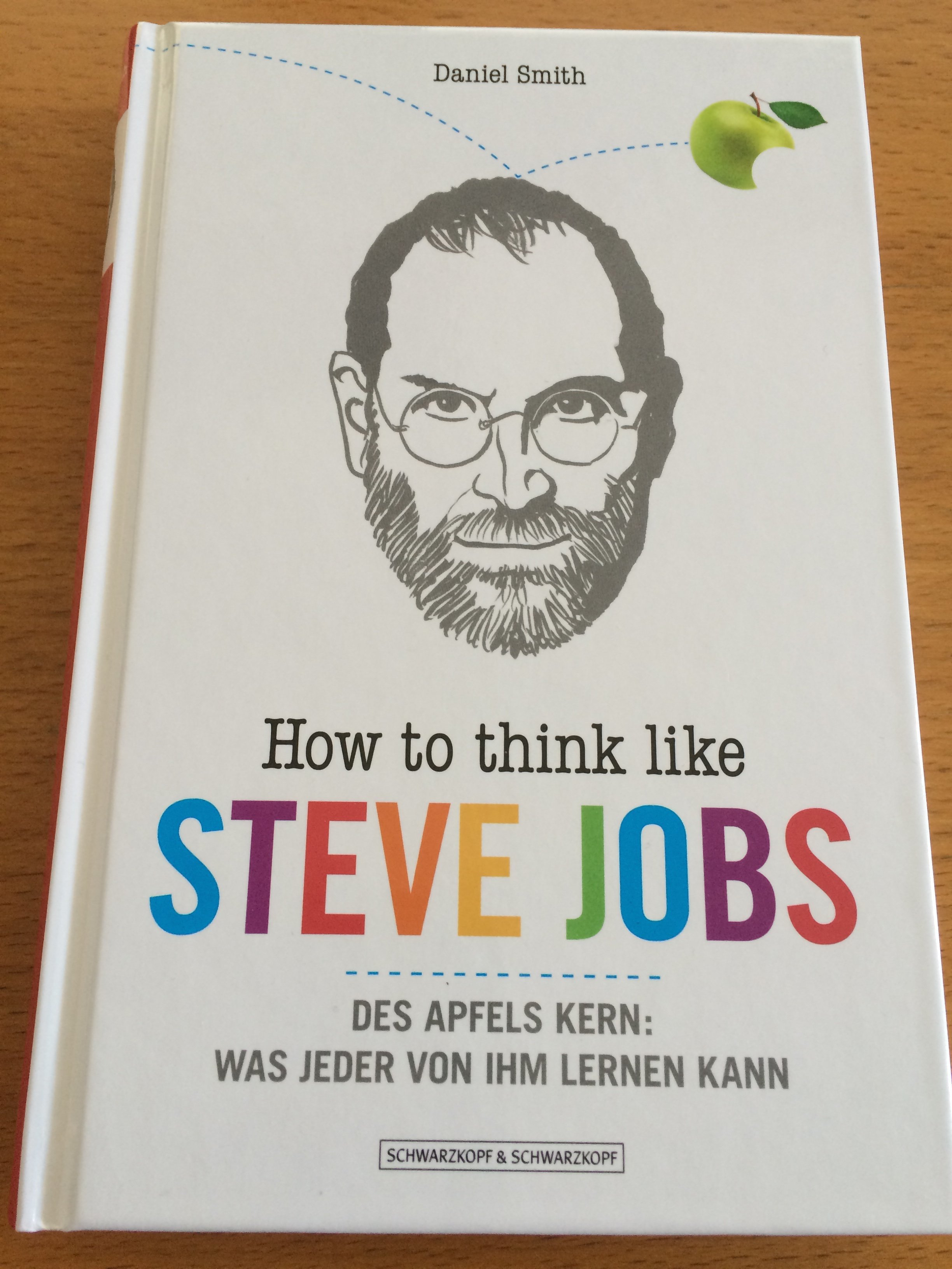 How to think like Steve Jobs - Cover