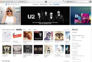 iTunes Store - Design-Update