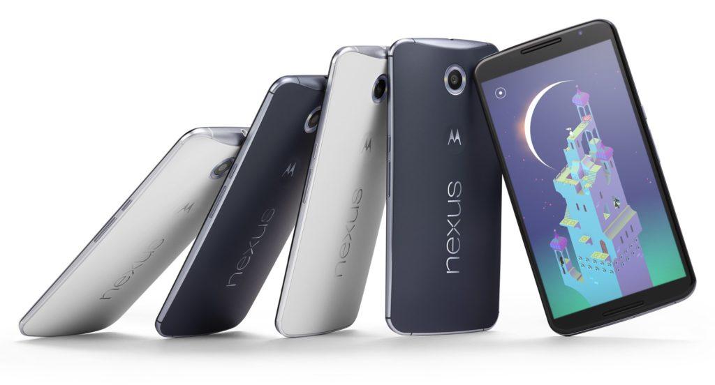 Google Nexus 6 in zwei Farben