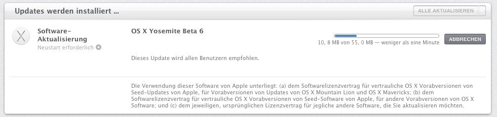 OS X 10.10 - Public Beta 6