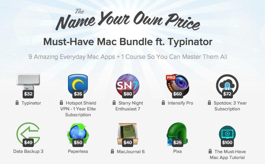 Typinator, Paperless und andere Mac-Apps im Angebot: Zahl so viel du willst