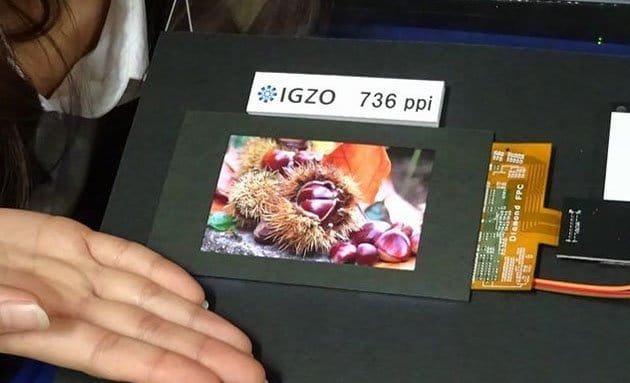Sharp IGZO Display