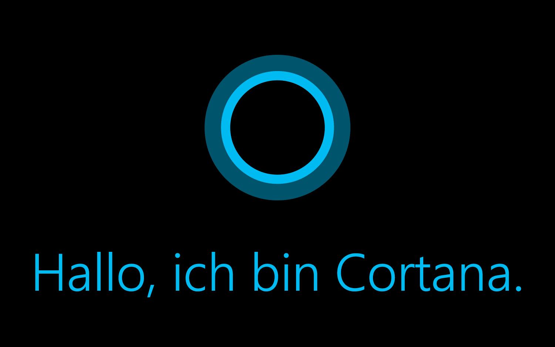 Cortana jetzt auf Deutsch