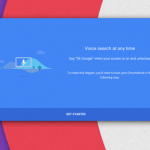 Chrome OS - OK Google Sprachsuche