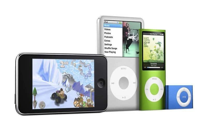 iPod - Line-up 2008