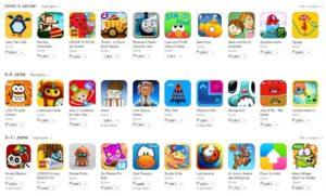 App Store - Spiele für Kinder
