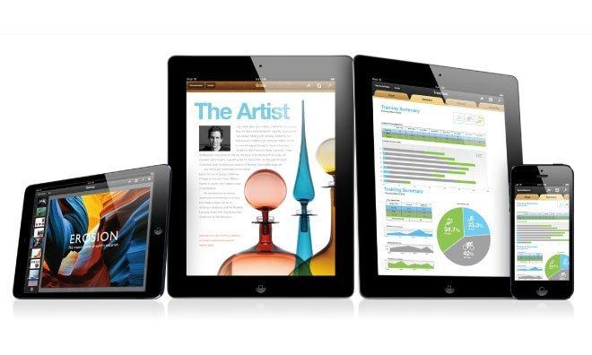 iWork für iOS - iPad mini, iPad, iPhone