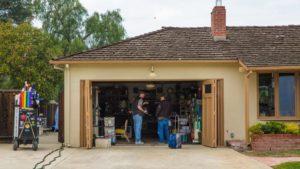 Los Altos - Garage aus Steve Jobs' Jugend