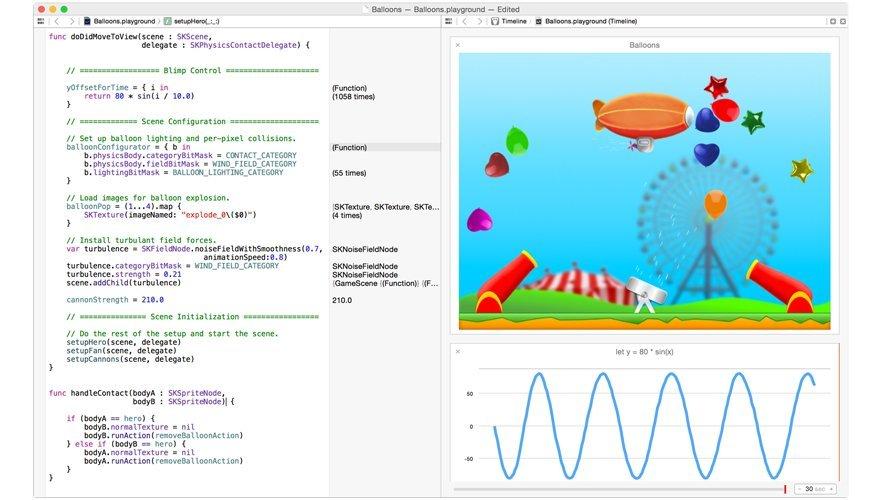Swift - Screenshot