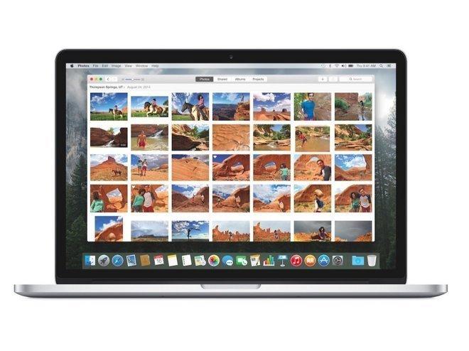 OS X Yosemite - Fotos-App