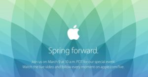 Apples Spring Forward Event