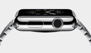 Apple Watch in Edelstahl
