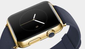 Apple Watch Edition in Gelbgold