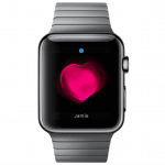 Apple Watch - Herzfrequenz-Ansicht