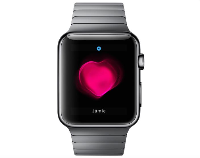 Apple Watch - Herzfrequenz-Nachricht