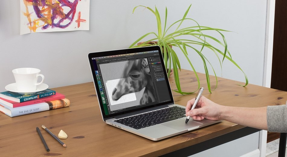 Inklet mit Force Touch Trackpad unter OS X
