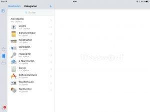 1Password - Screenshot