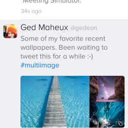 Twitterrific mit Apple Watch App
