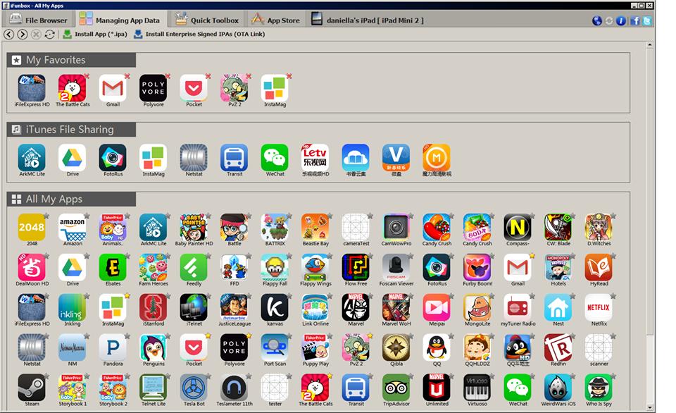 iFunBox - Screenshot