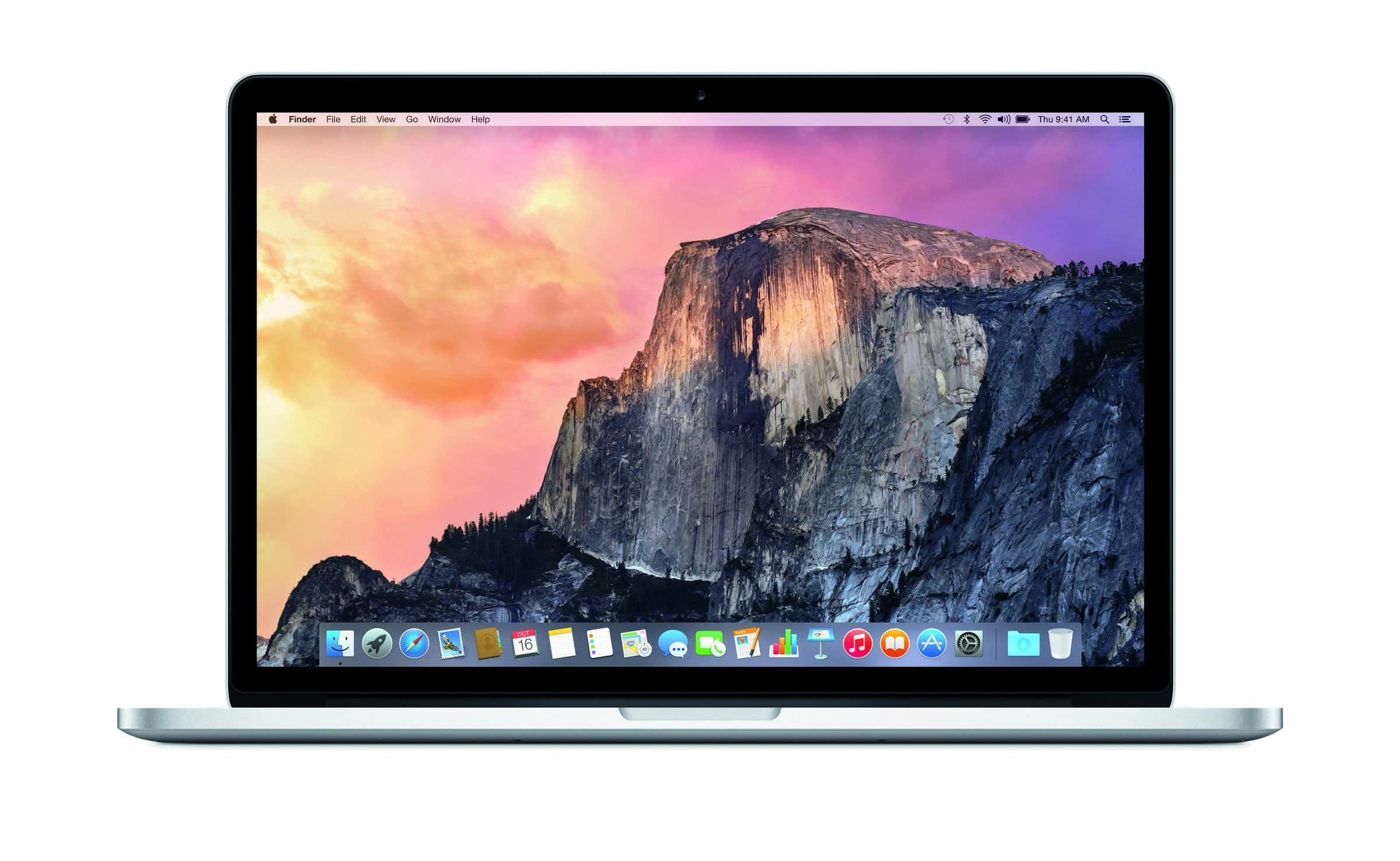 MacBook Pro 15 mit OS X Yosemite