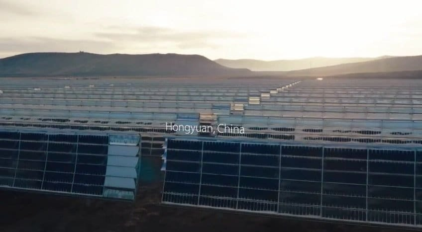 Apple Solarfarm in China