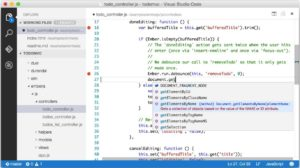 Visual Studio Code - Screenshot