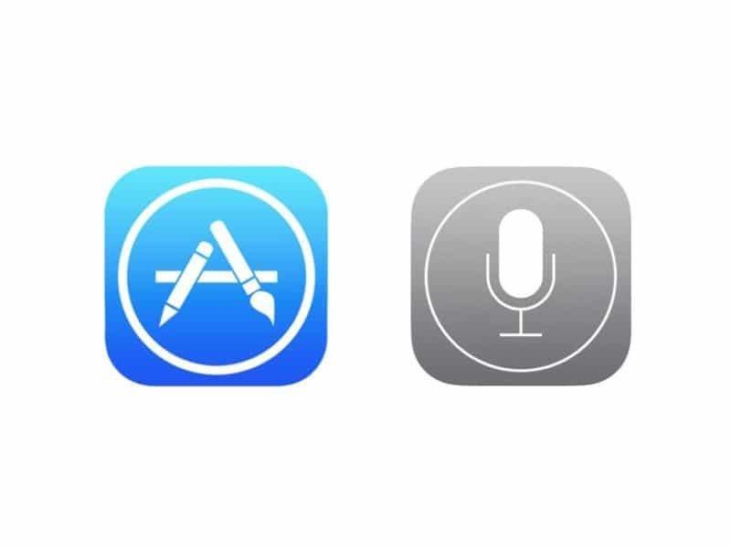 App Store + Siri Icon