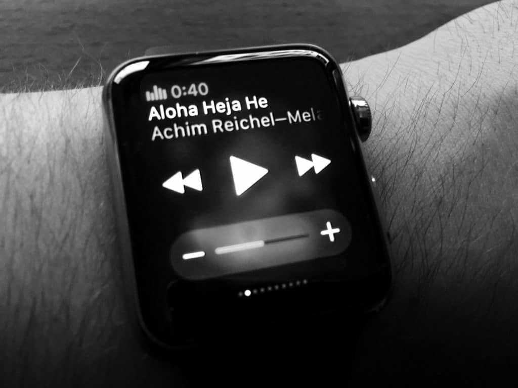 Apple Watch - Musik-App