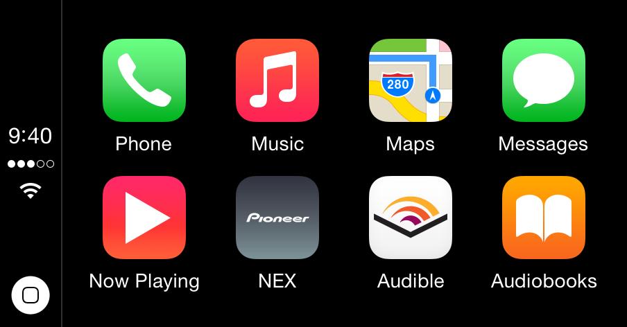 Audible im CarPlay Dashboard