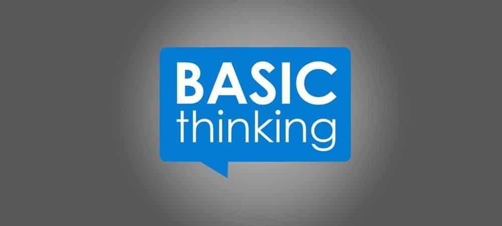 Basic Thinking - Logo