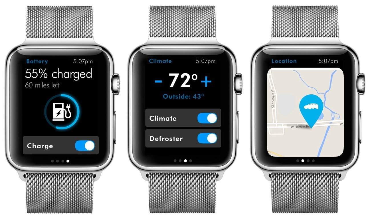 Apple Watch - Volkswagen-App